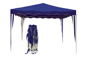 Carpa Plegable Azul