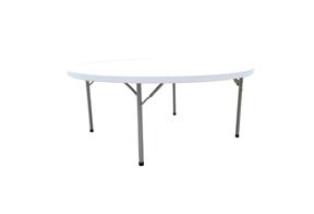 mesa plegable redonda para banquete 122