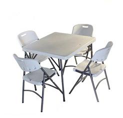 mesas plegables para espacios pequeños