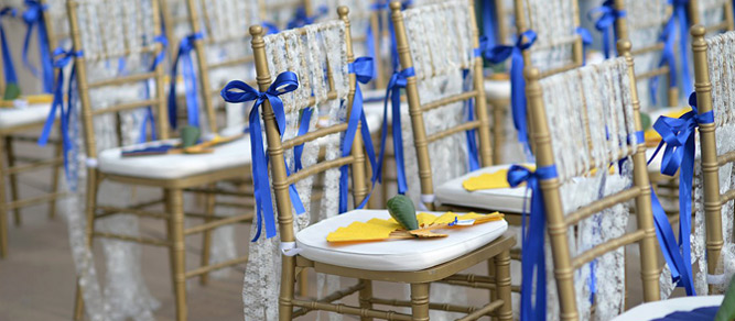 ideas decoracion sillas boda